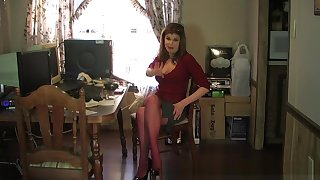 Crazy Homemade clip with MILF, Brunette scenes
