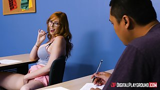 Lauren Phillips is a hot ginger chick who wants to be fucked