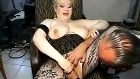 Grown up in Stockings Fisted and Fucked