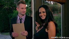 MILF Ava Addams cheats on her husband fro a young pollster