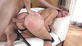MILF dominated from beginning to end and brutal anal tryout